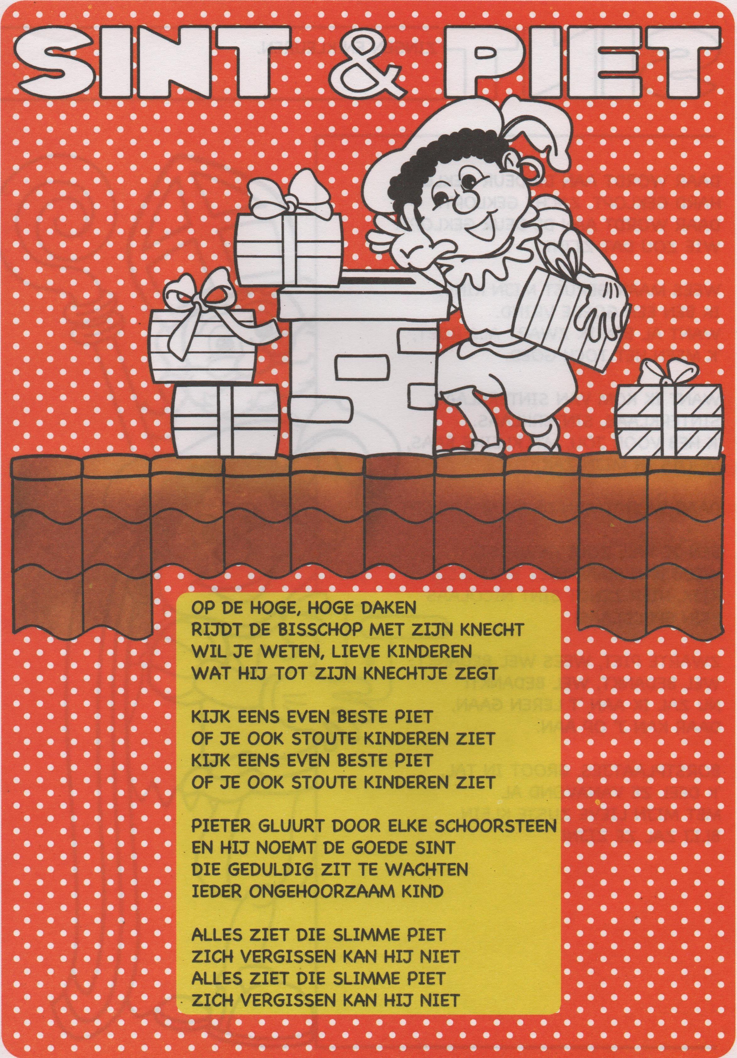 Gedicht Zwarte Piet