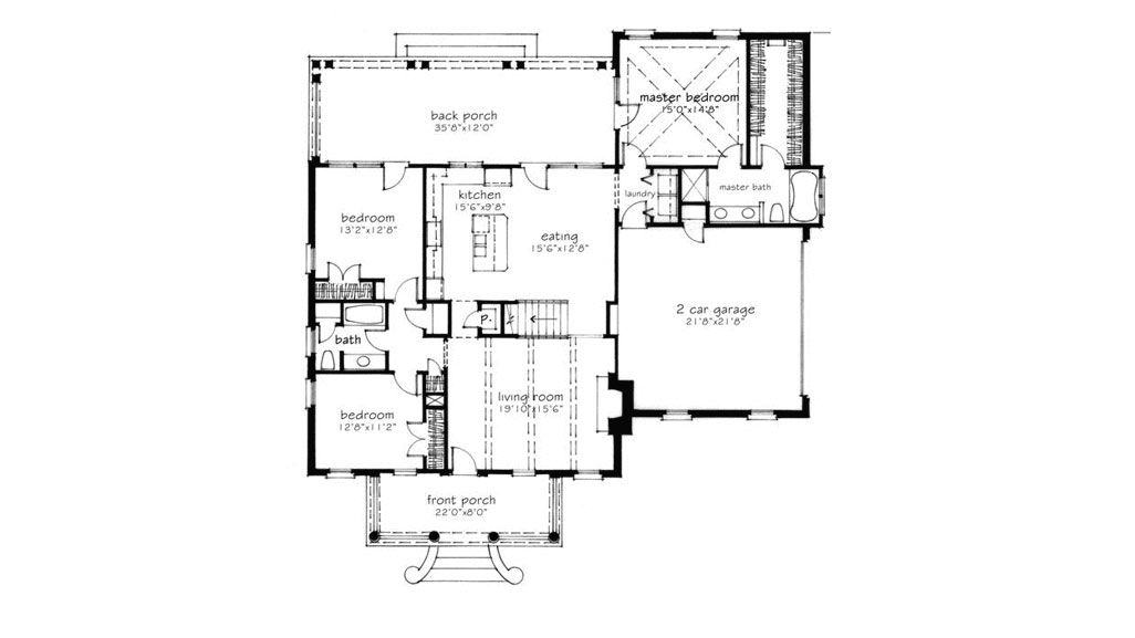 This Classic Cottage Is Our New Favorite House Plan Southern House Plans Farmhouse Floor Plans Architectural House Plans