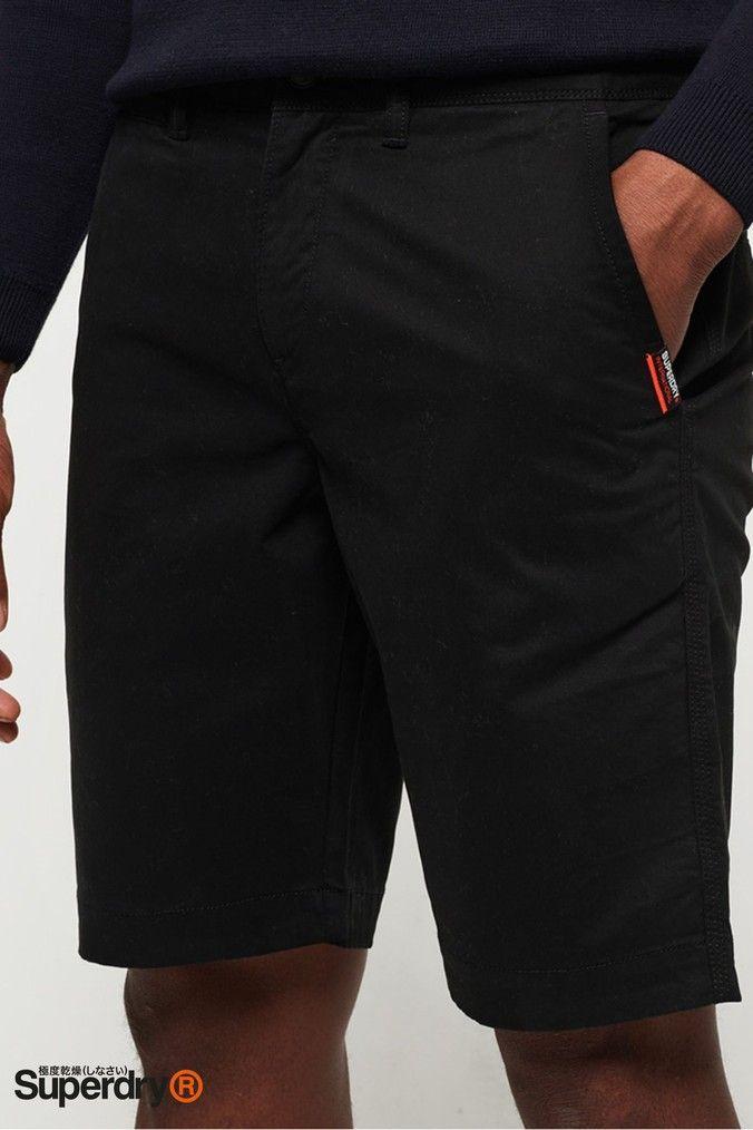 Superdry Mens International Slim Chino Lite Short