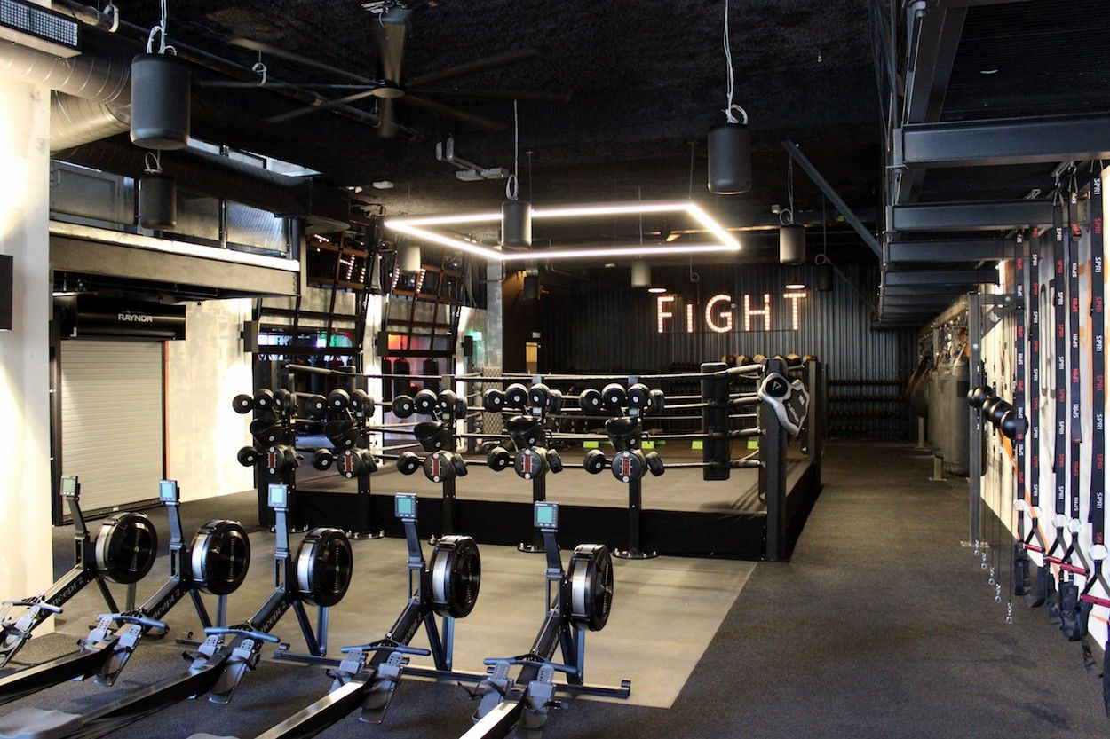 George Foreman's EveryBodyFights Opens in Financial District