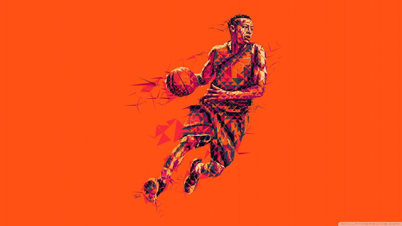 Cool art painting basketball wallpaper image free - Cool basketball wallpapers hd ...