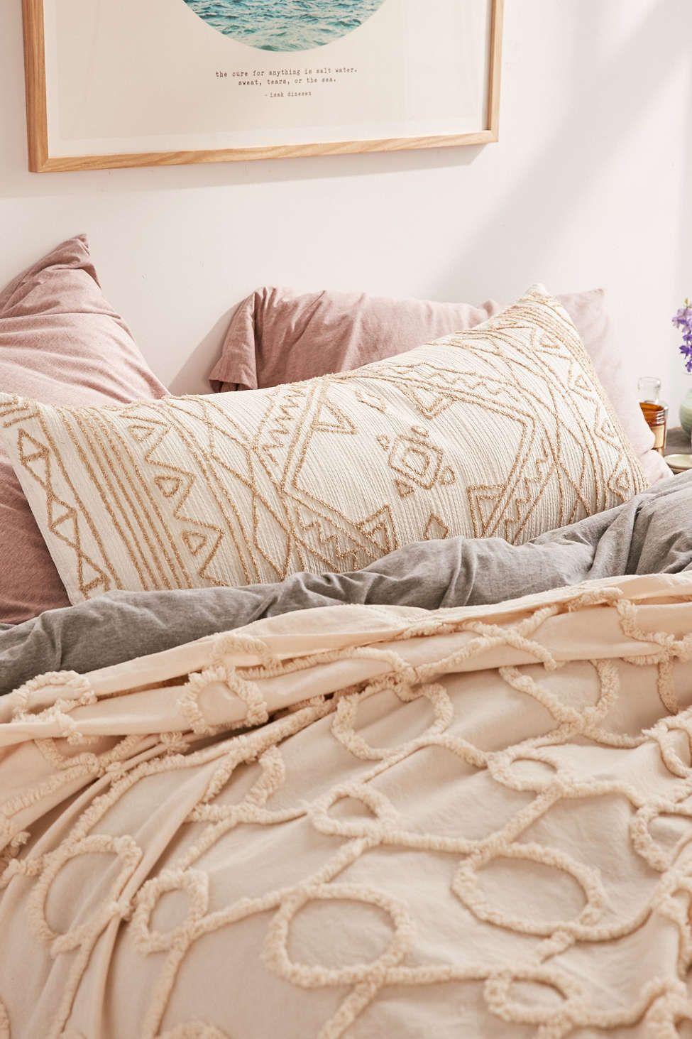 Thinking Roya Crewel Body Pillow