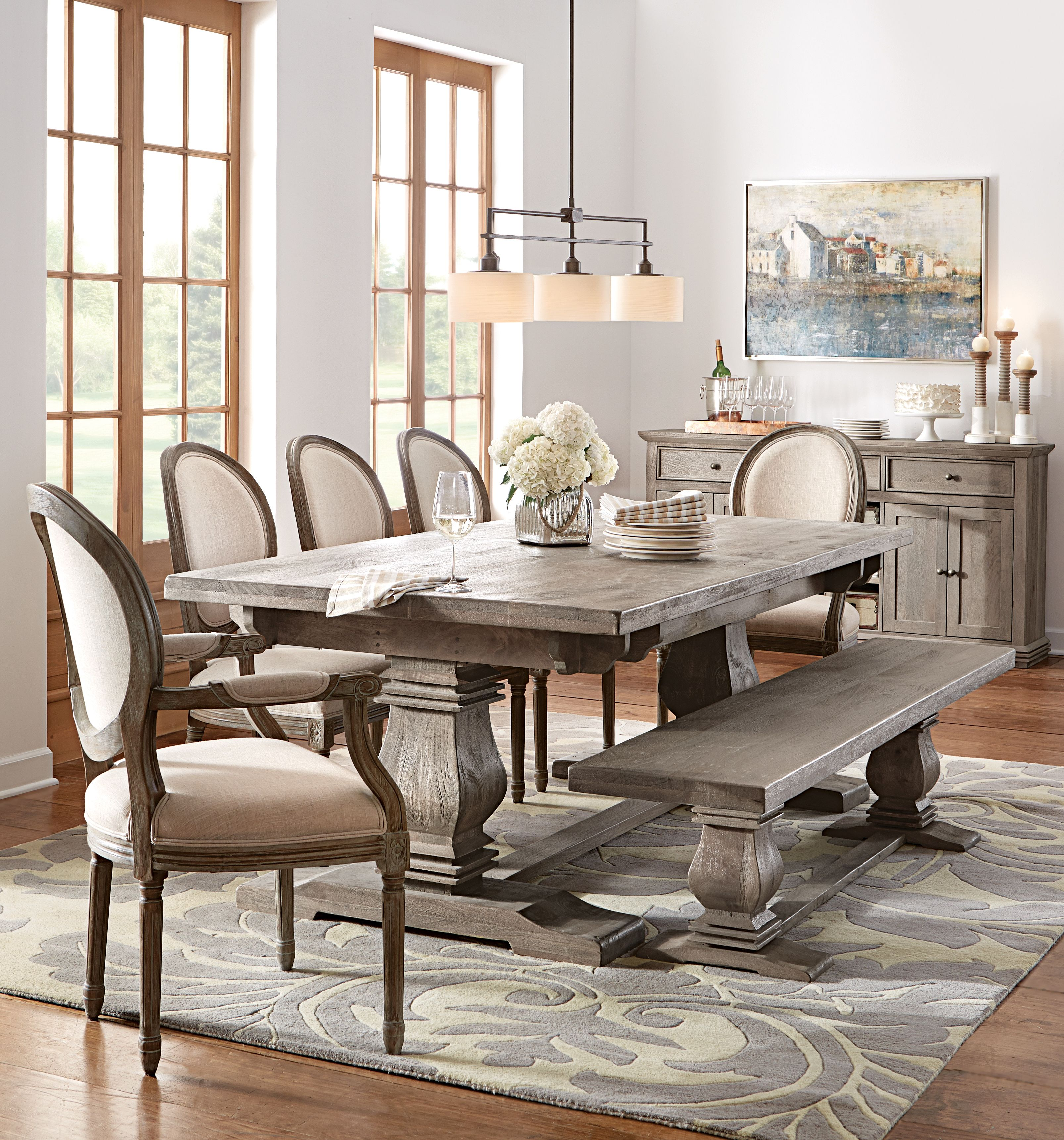 Ordinaire Fit As Many Guests As Comfortably Possible With N Extendable Dining Table.  HomeDecorators.com #12DaysofDeals2015 #dining