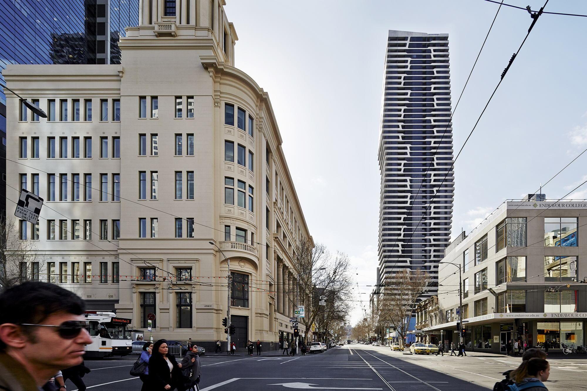 Wohnturm von Hayball in Melbourne / Wie lebt der Australier? - Architektur und Architekten - News / Meldungen / Nachrichten - BauNetz.de