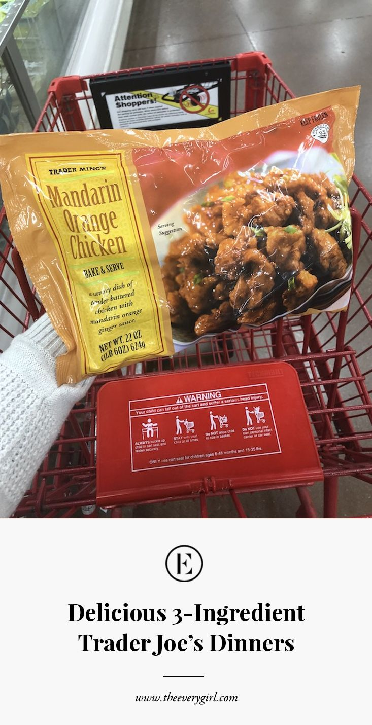 Delicious 3ingredient trader joes dinners to make this