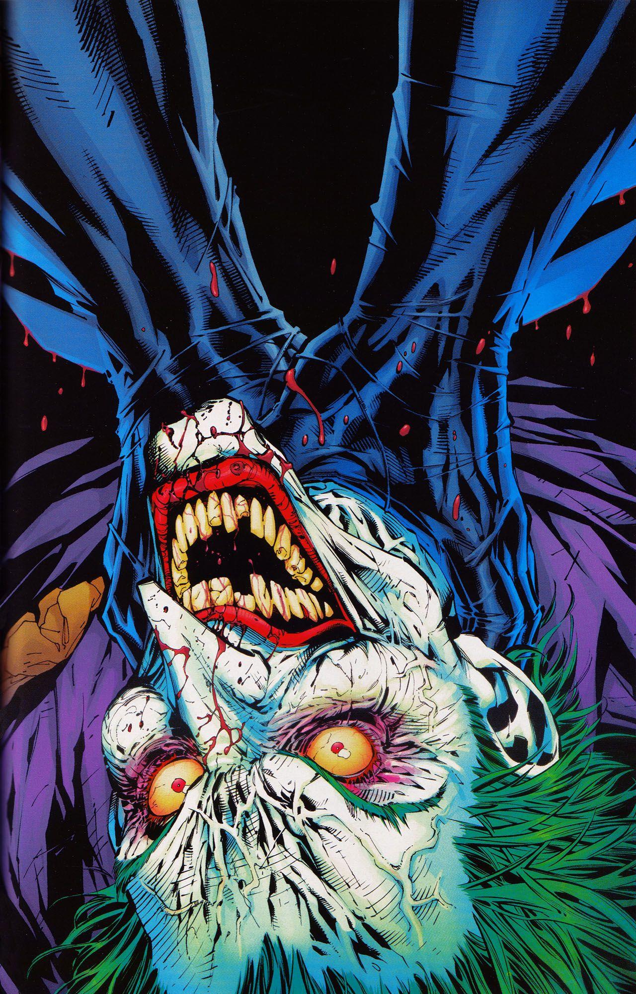 Jim Lee S Joker Comic Book Villains Joker And Harley Joker Dc Comics