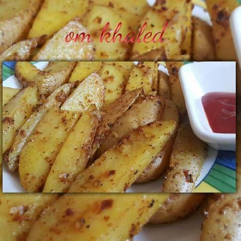 بطاطس بالفرن بالصور من أم خالد Recipe Food Breakfast Toast