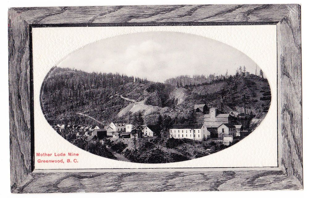 BC – GREENWOOD, Mother Lode Mine, Rumsey c. 1900s PPC