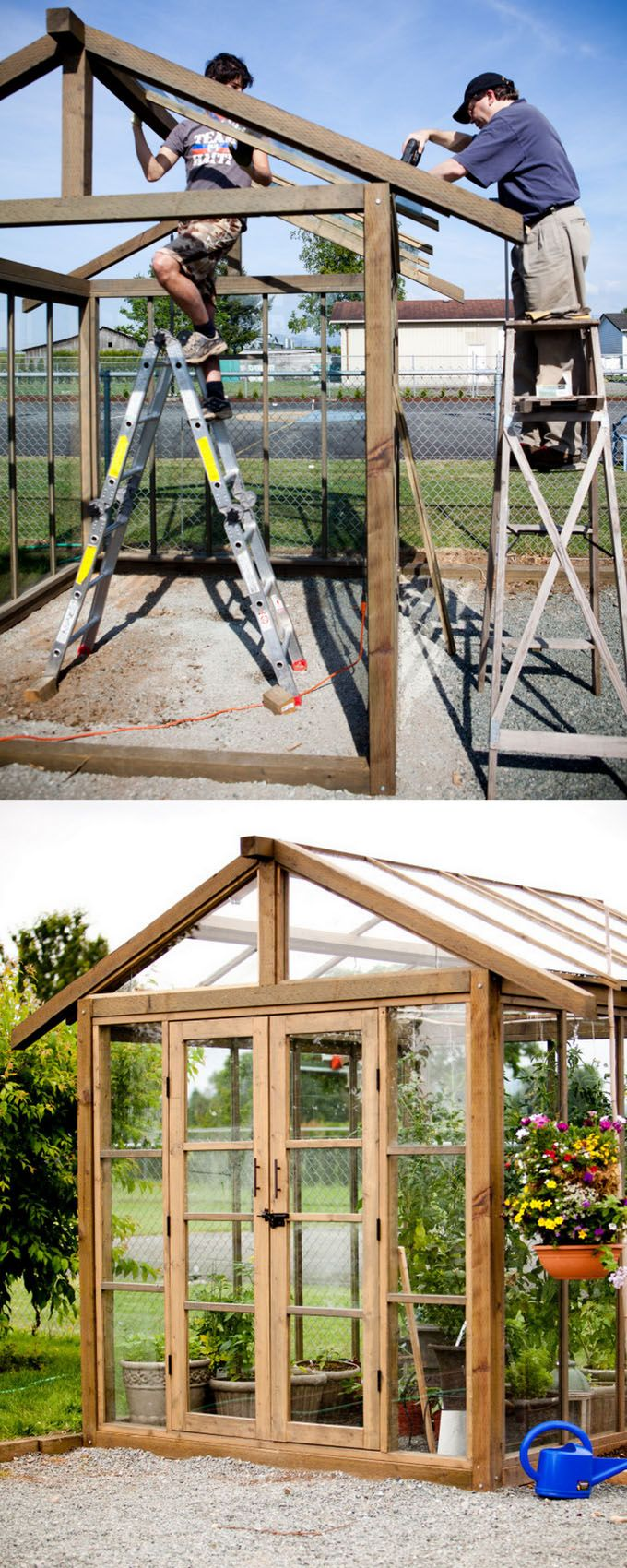 12 Most Beautiful Diy Shed Ideas With Reclaimed Windows Backyard Office Greenhouse Shed Diy Shed