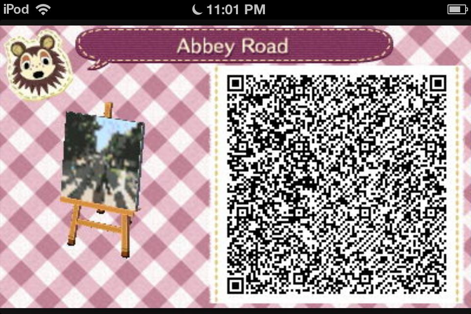 Abbey Road Flag For Animal Crossing Qr Codes Animal Crossing Animal Crossing Qr Qr Codes Animals