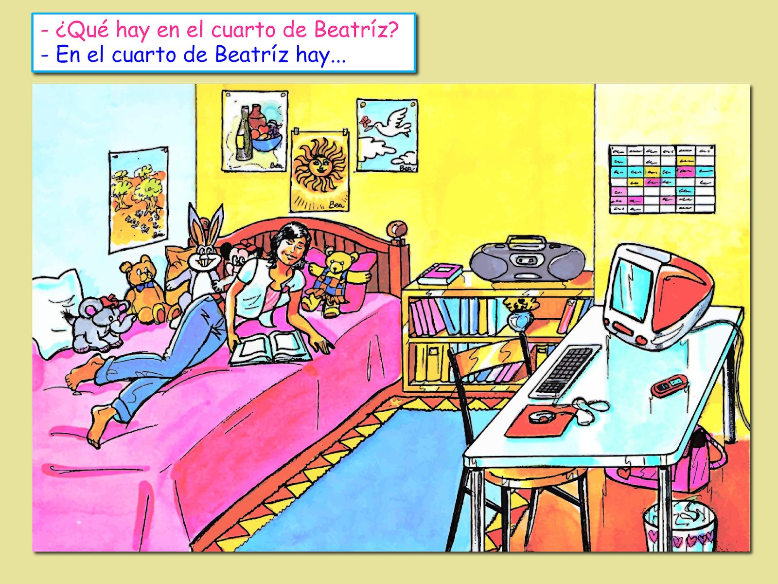 Me Encanta Escribir En Espanol Que Hay En La Habitacion
