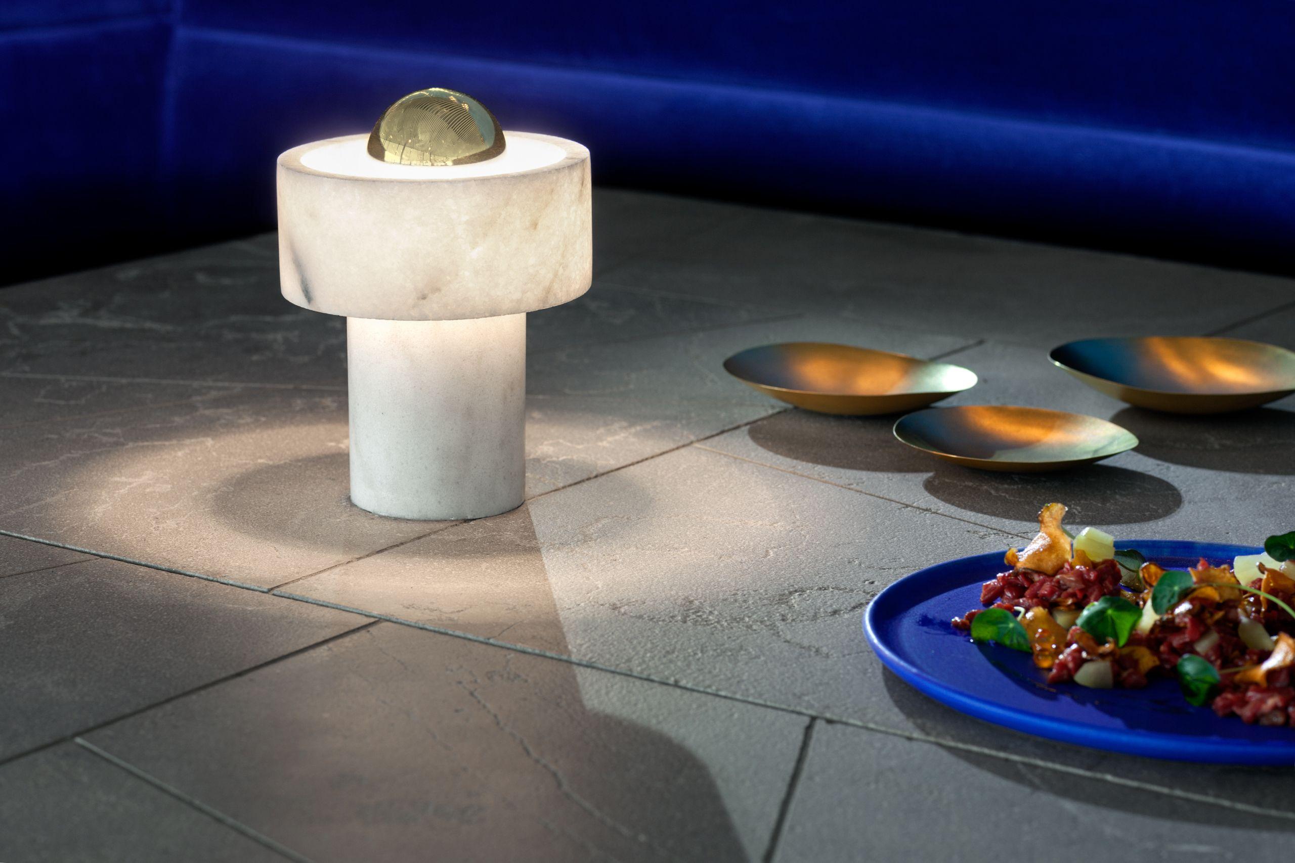 Stone Table Light Light Table Lighting Crafts