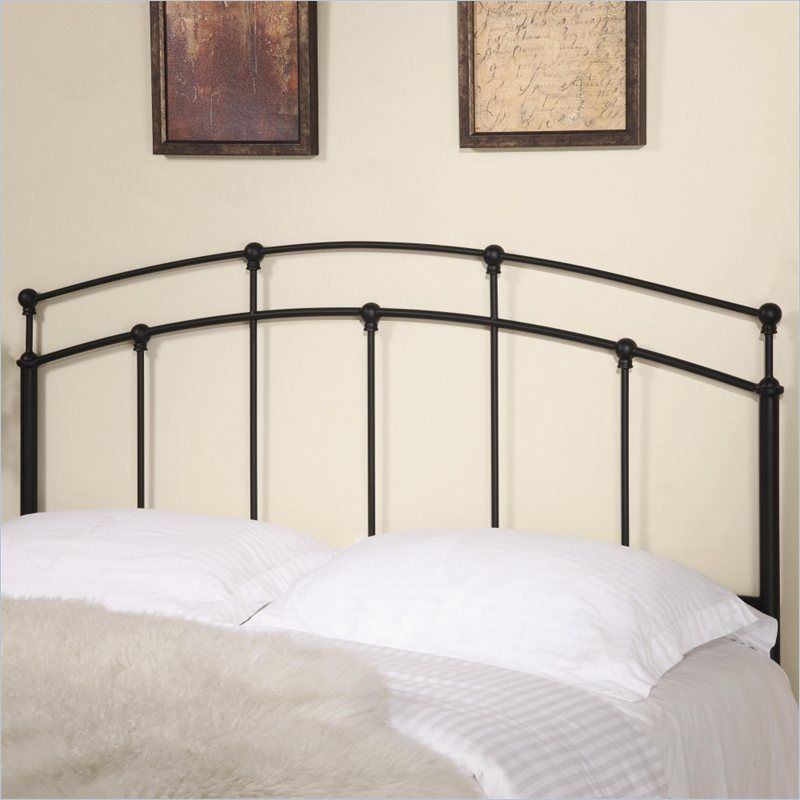 Coaster Full and Queen Metal Headboard in Black and Bronze - 300190QF