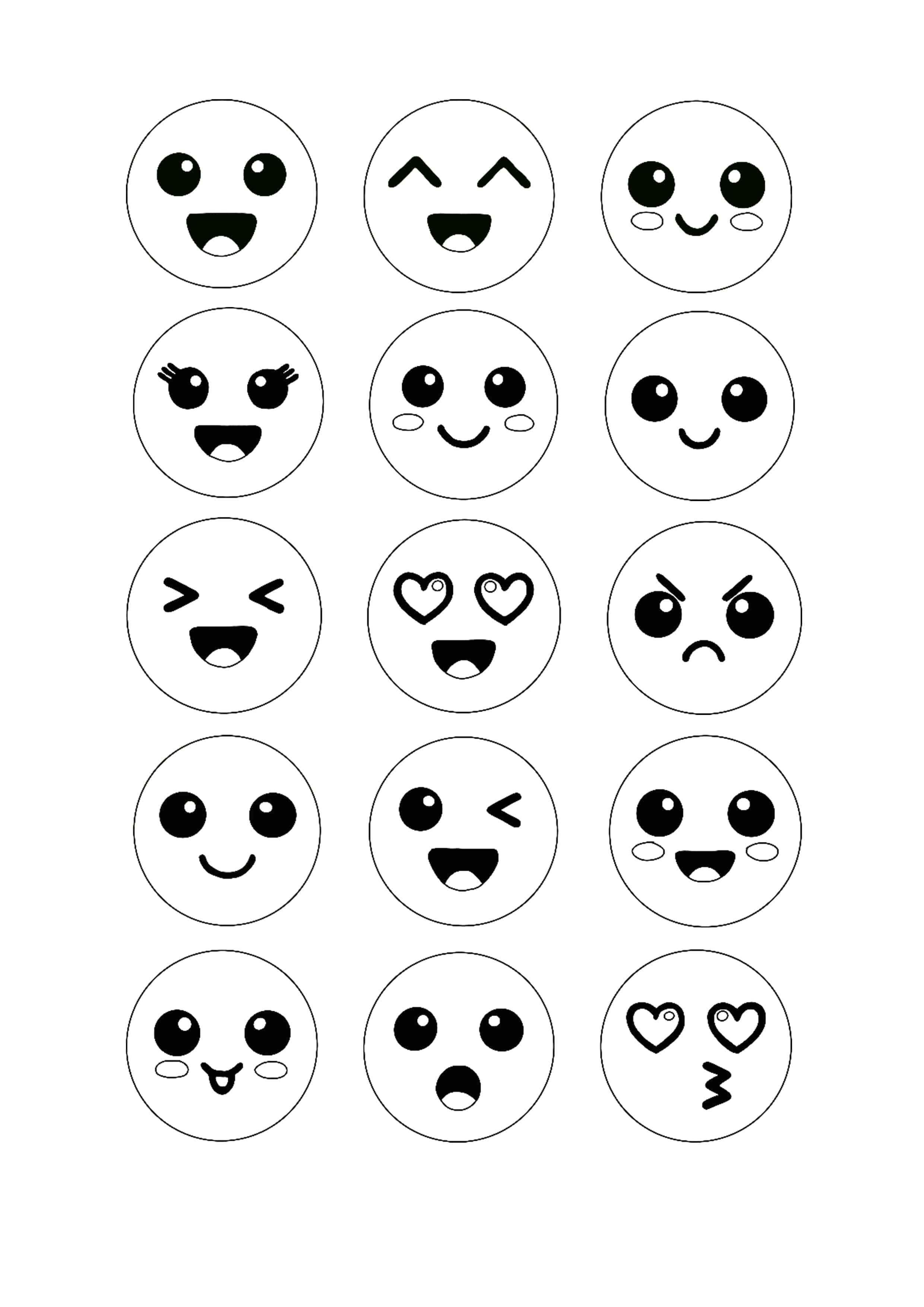 Kawaii Emoji Coloring Page Emoji Coloring Pages Free Printable Coloring Sheets Coloring Pages