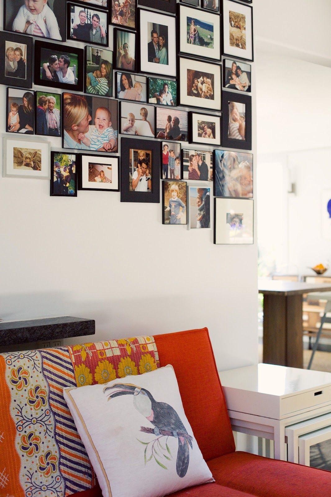 идеи как в доме развесить фотографии ним можно вычислить