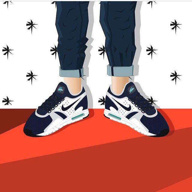 #sneakerart #artist @youngtrunks