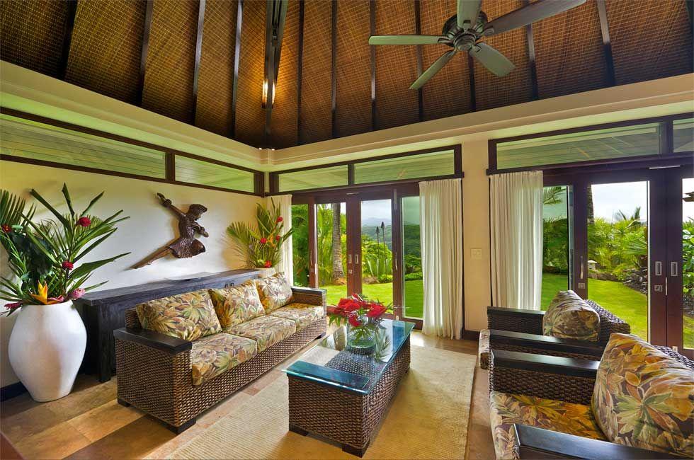 Tropical Hawaiian Interior Design | Interior Design Images
