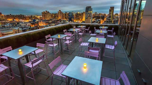 Mr Purple Nyc Rooftop Bar In New York Therooftopguide Com