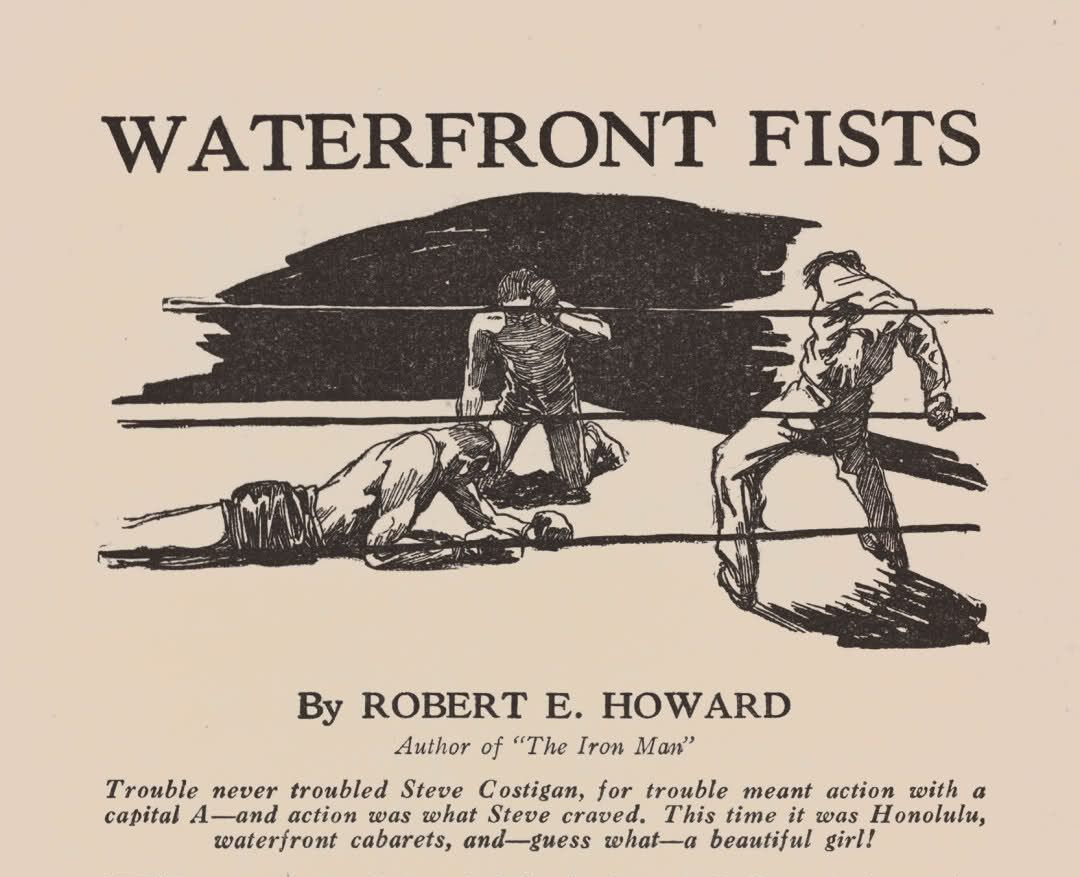 Not Pulp Covers • Waterfront Fists