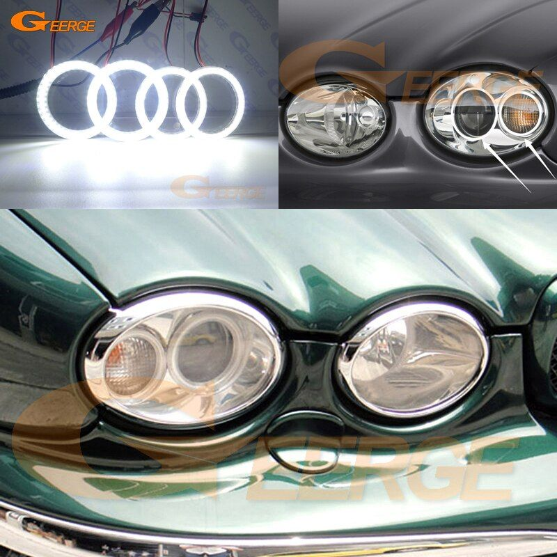 Cheap Car Light Assembly Buy Quality Automobiles Motorcycles Directly From China Suppliers Excellent 4 Pcs Rings Ultra Brig Jaguar X Jaguar Xenon Headlights