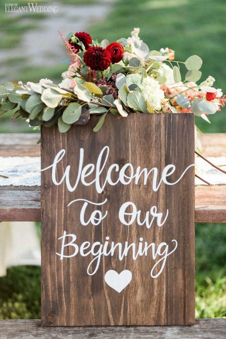 Viktorianische Hochzeits-Inspiration für eine moderne Braut   – Wedding Signs