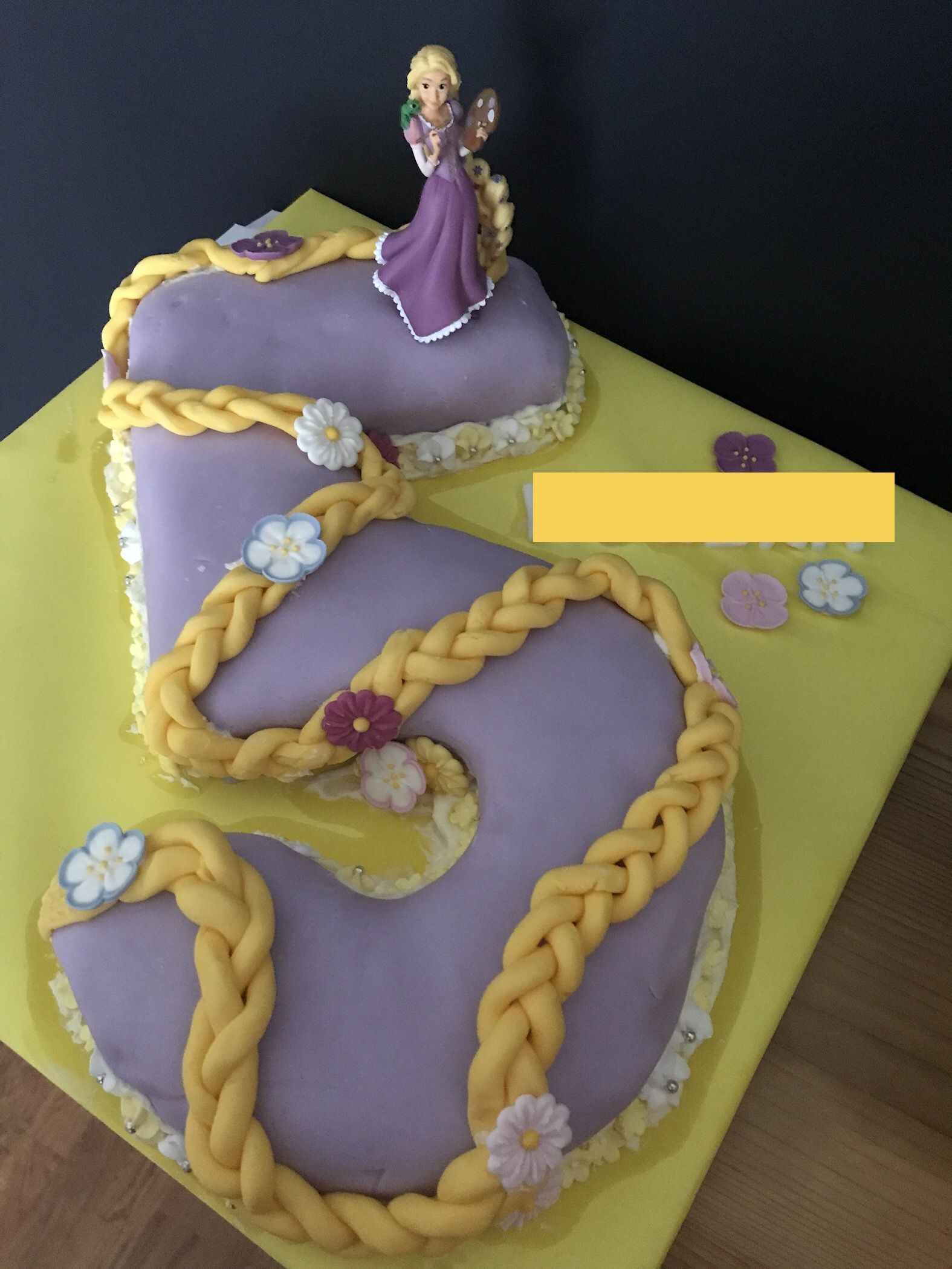 Terrific Pin By Victoria Rock On Cake Ideas Rapunzel Birthday Cake Personalised Birthday Cards Veneteletsinfo