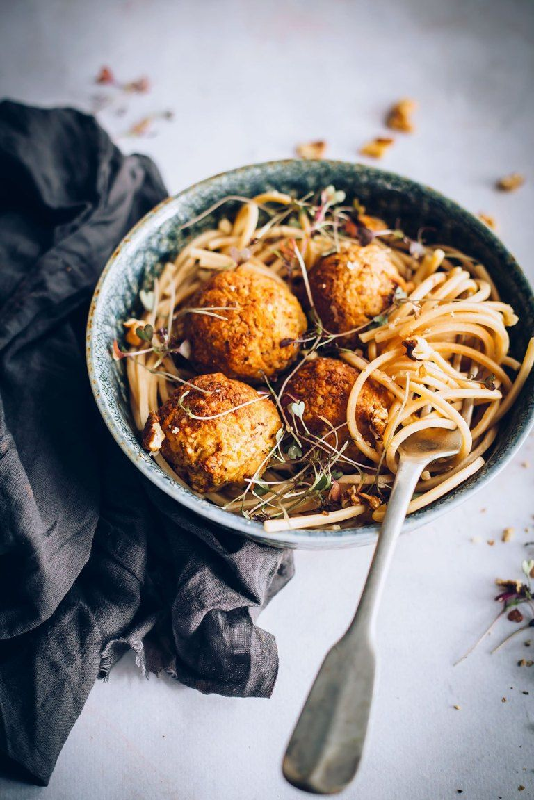 Carrot Walnut Meatballs