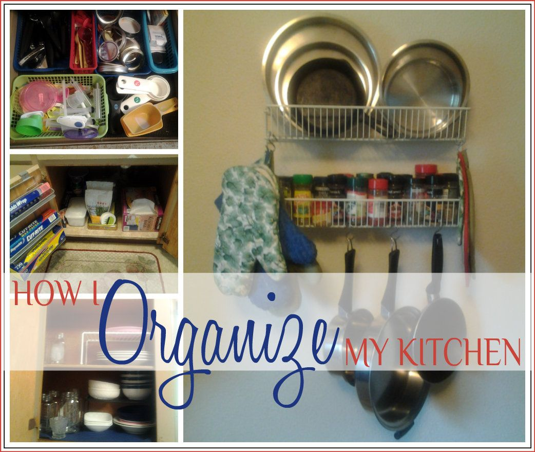 How I Organize My (Teeny-Tiny