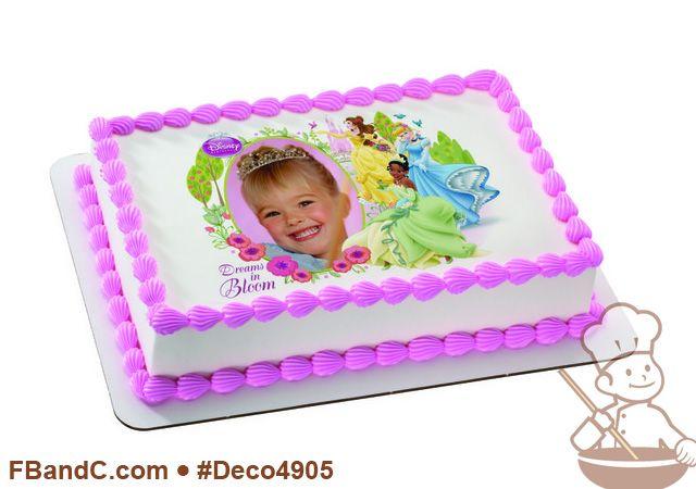 Deco4905 | DISNEY PRINCESS DREAMS IN BLOOM PC FRAME | Belle, Cinderella, Tiana, flowers, birds, custom, photo.