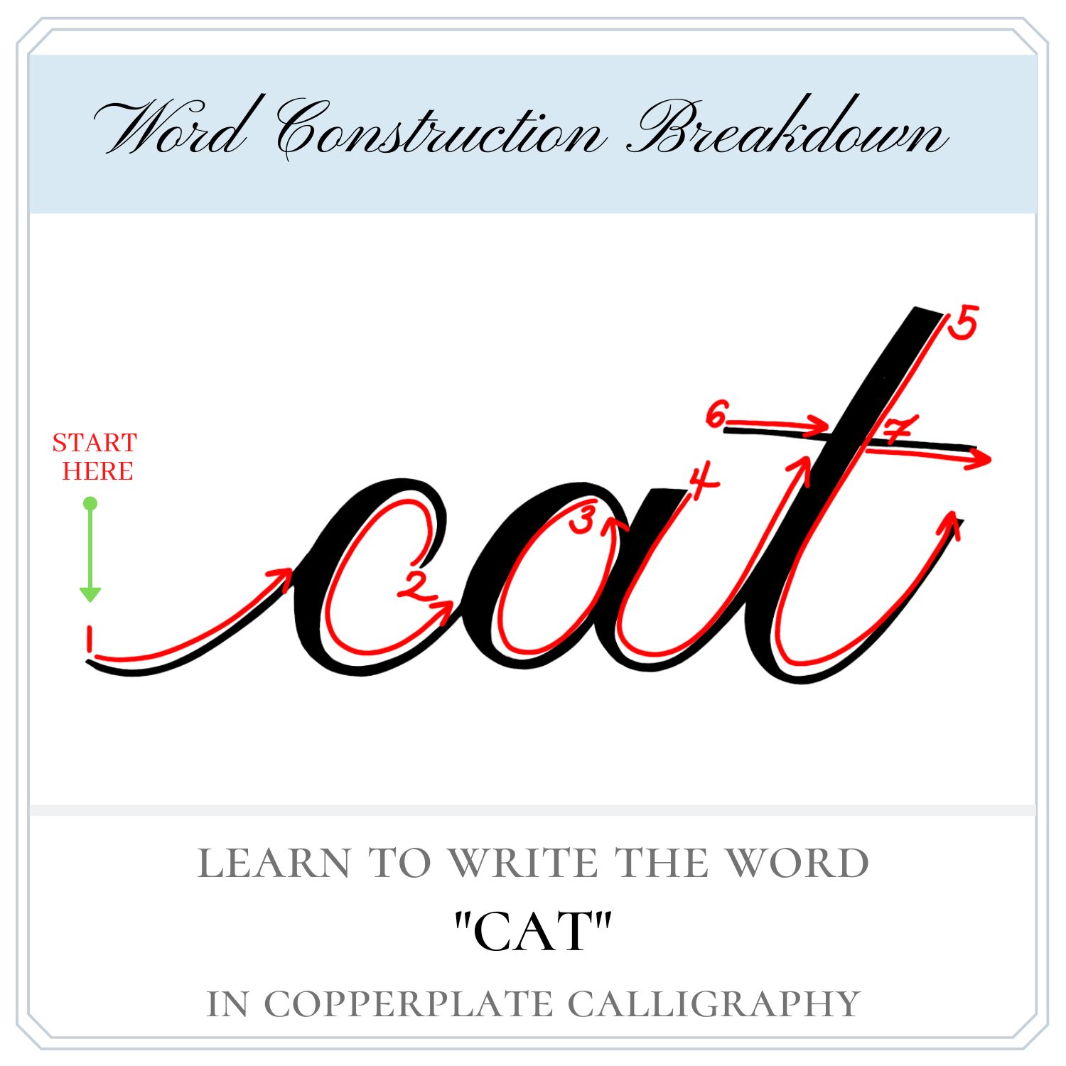 Pin On Copperplate Calligraphy