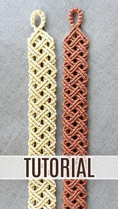 Celtic Mens Bracelet TUTORIAL   Macrame Basket Weave Pattern #macramebracelet #mensbracelet #mensjewelry #unisexjewelry #celtic #bracelet #tutorial #basketweave #macramepattern #macrametutorial #jewelrymaking #knotting #diymacrame