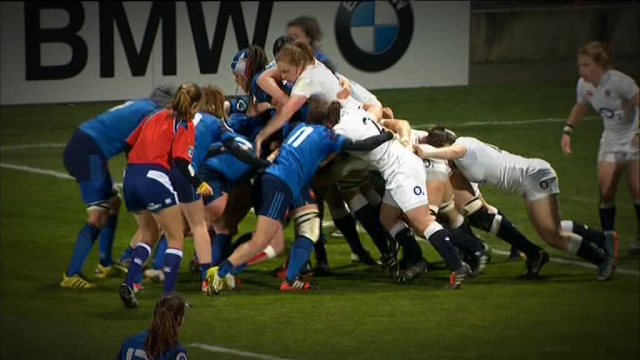 Rugby féminin La France arrache la victoire face à l