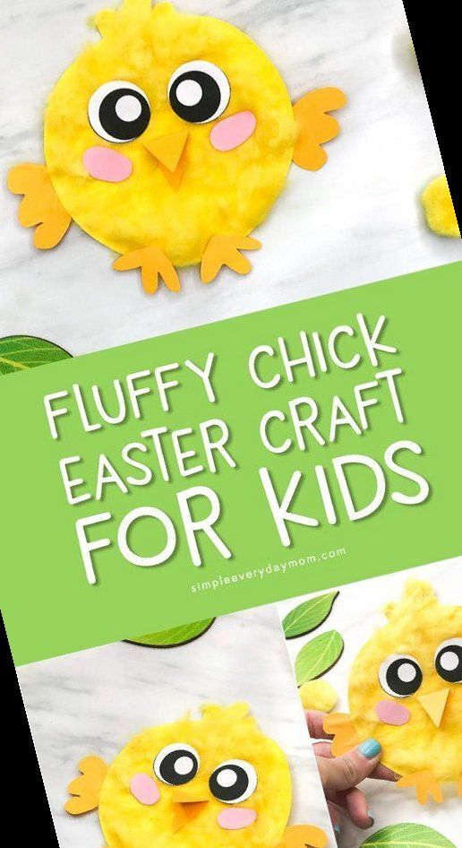 Photo of 19+ Easy Fluffy Chick Craft For Kids [Free Template} | Laundry Room Ideas Organization Hampers