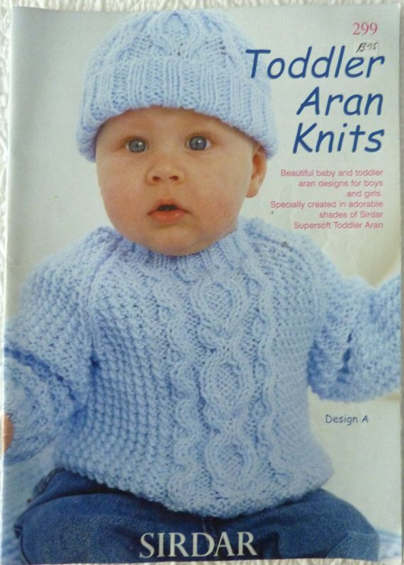 Sirdar 299 Knitting Pattern Book Baby And Toddlers Designs For