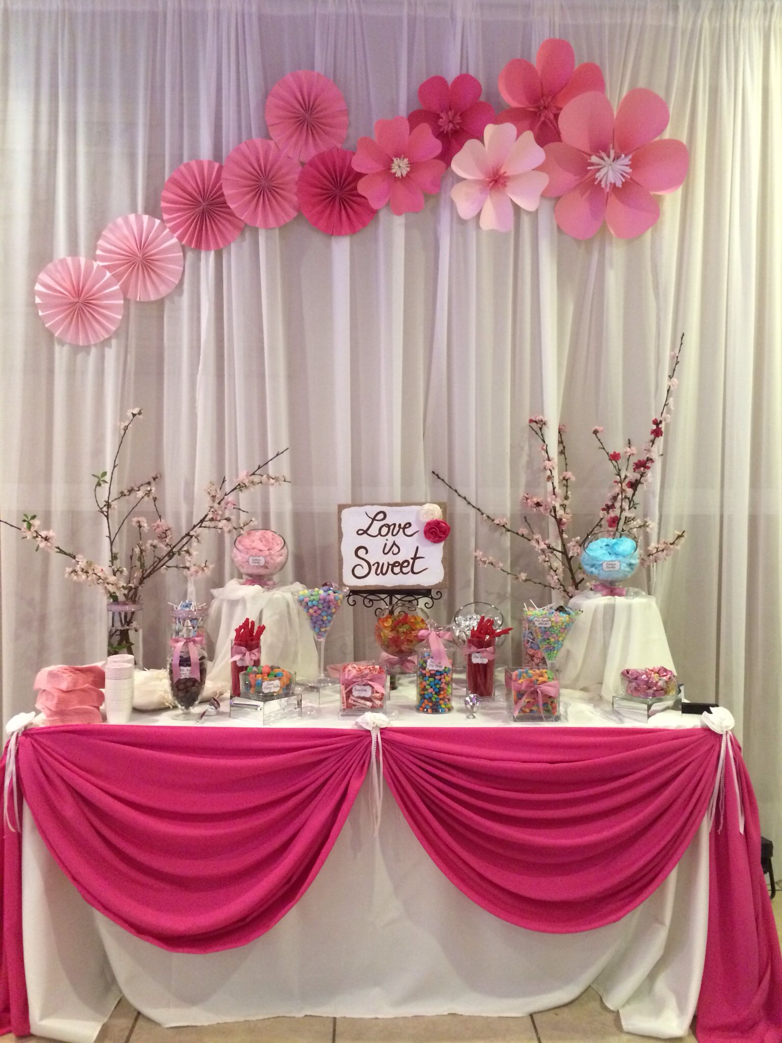 Candy Table Decor