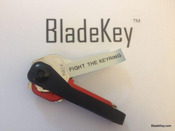 BladeKey Bolt Open Source Pocket Key Organizer by BladeKey LLC