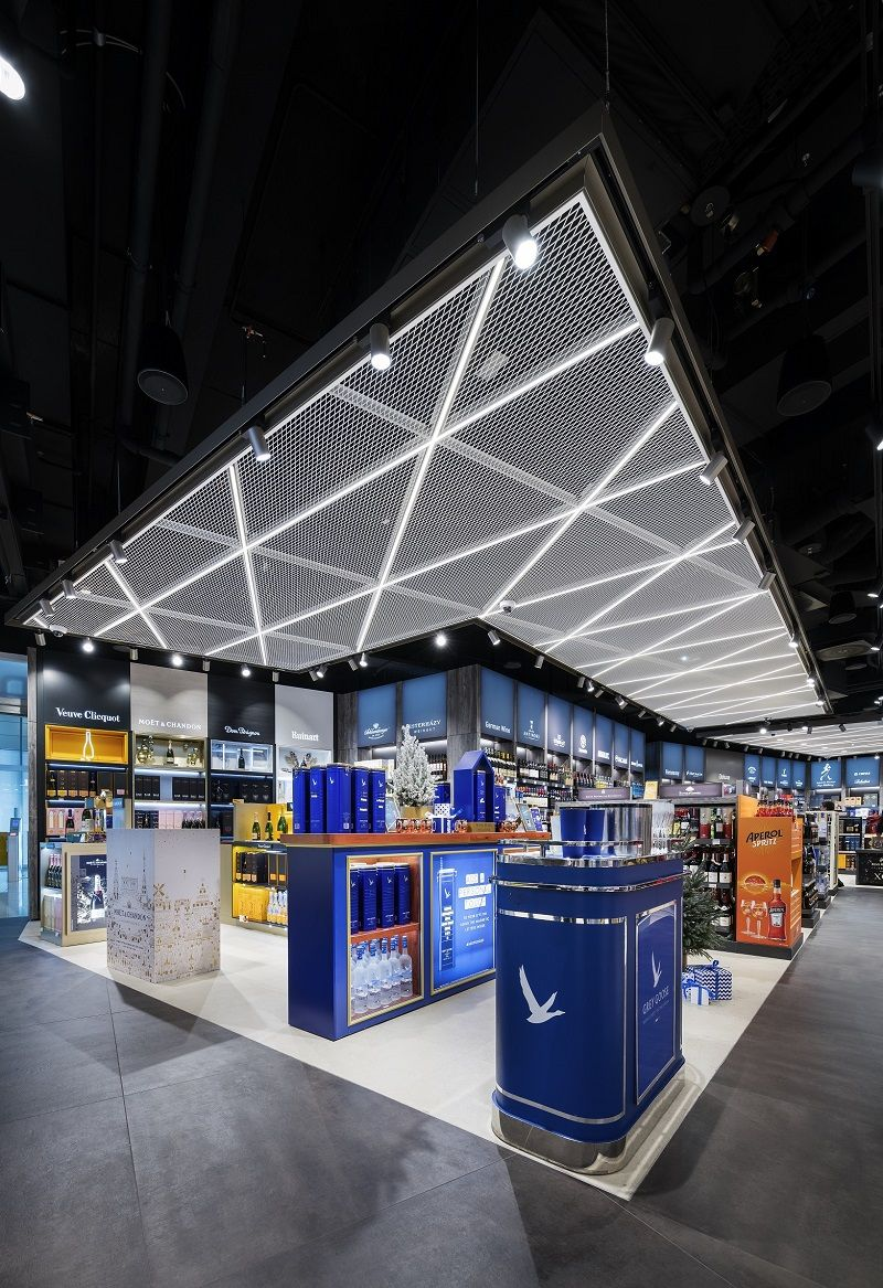 Pin By Retail Design By Essential Ret On Product In 2020 Munich Airport Showcase Design Picture Gallery