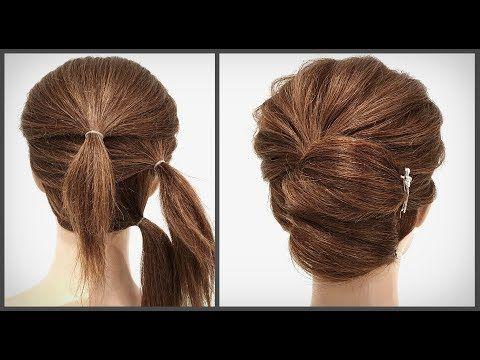 10 ПРОСТЫХ ПРИЧЕСОК НА КОРОТКИЕ ВОЛОСЫ ИЗ РЕЗИНОК. 10 simple hairstyles for short hair from elastic