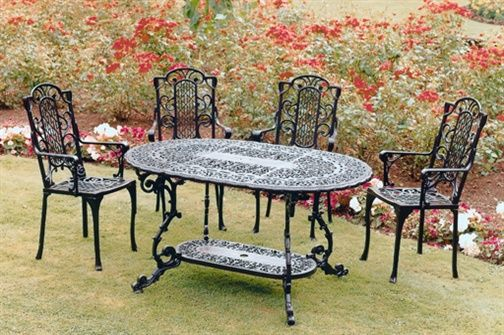 1000 images about Cast Iron Outdoor Furniture on Pinterest Iron