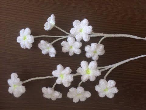 Fiorellini | Crocheted Flowers | Pinterest | Blumen, gehäkelte ...
