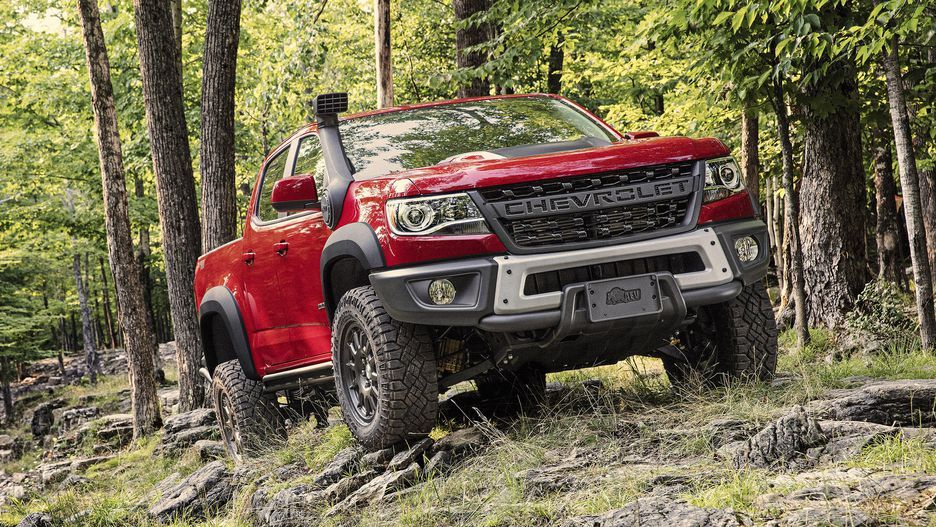 2019 Chevy Colorado ZR2 gets more epic with AEV's help