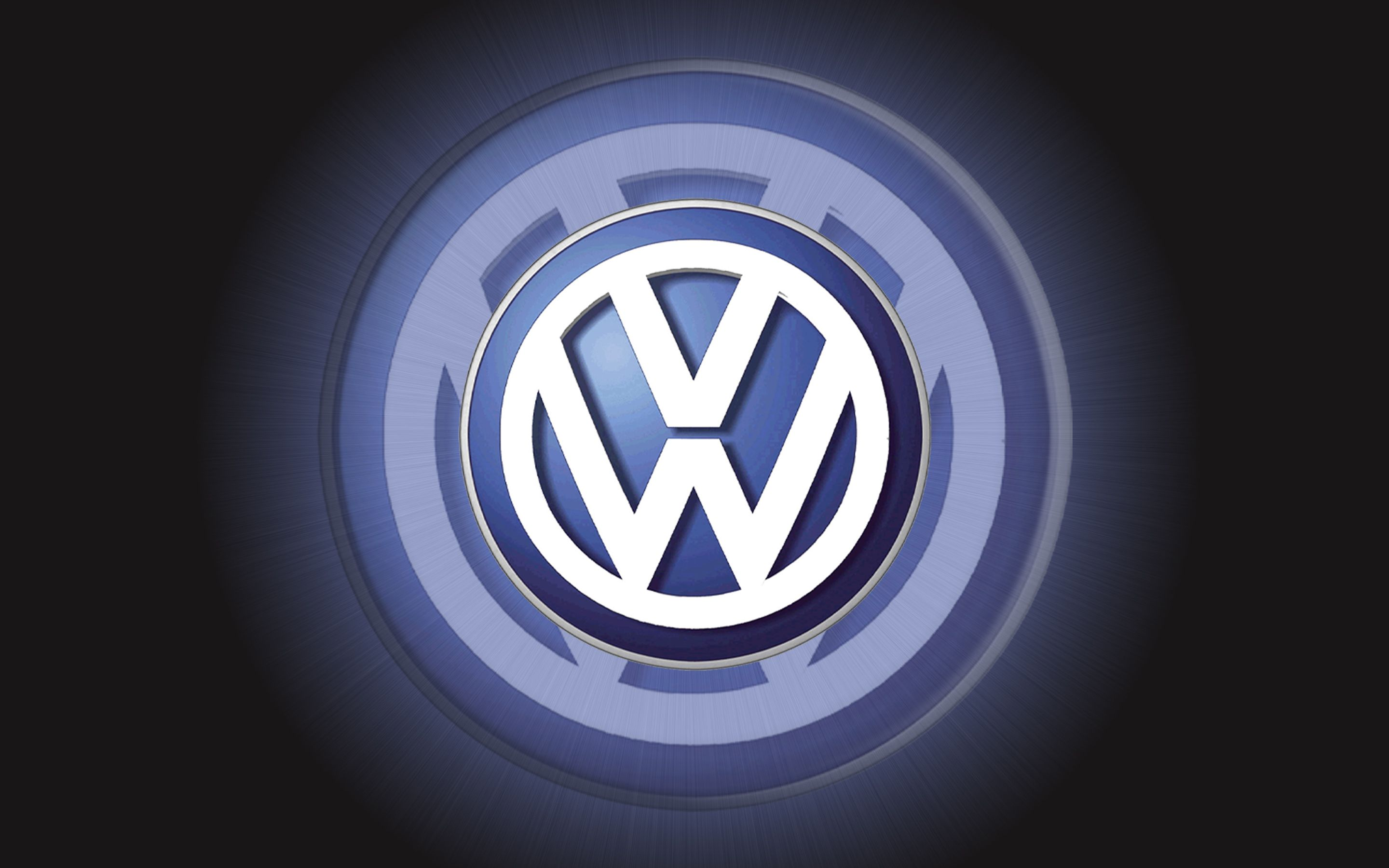 Vw logo | Volkswagen Logo Wallpaper 3D