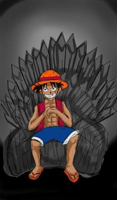 Luffy dos tronos
