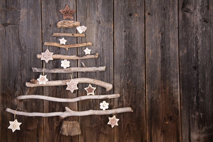 Photo of Craft Weihnachtsbaum aus Zweigen und Zapfen   – basteln – #aus #basteln #craft #…