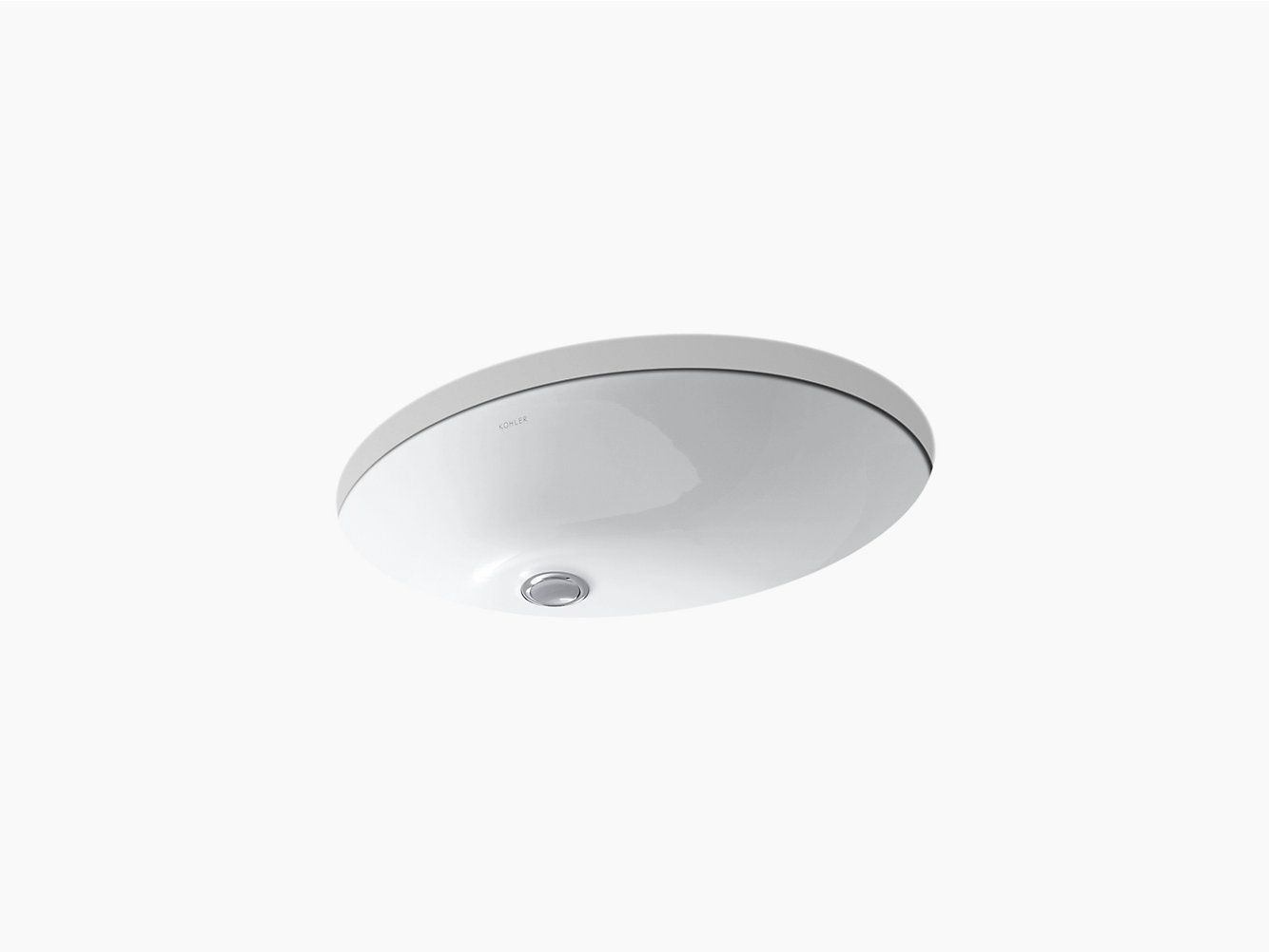 Attic Bathroom Sink K 2211 Caxton Undermount Sink 19 By 15