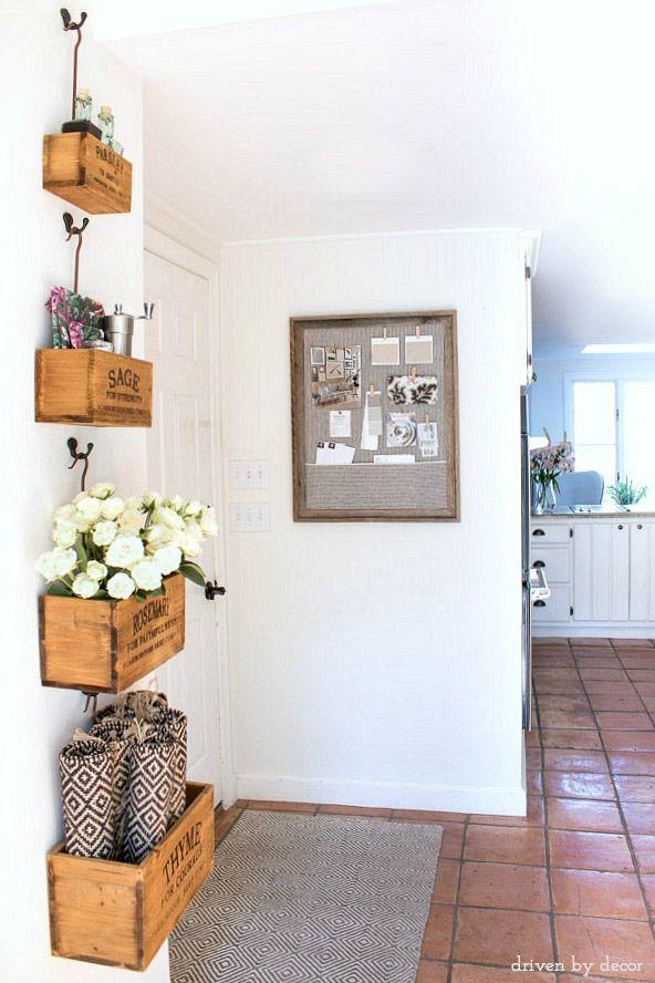 Framed Cork Bulletin Board - A Quick & Easy DIY | Decor ...