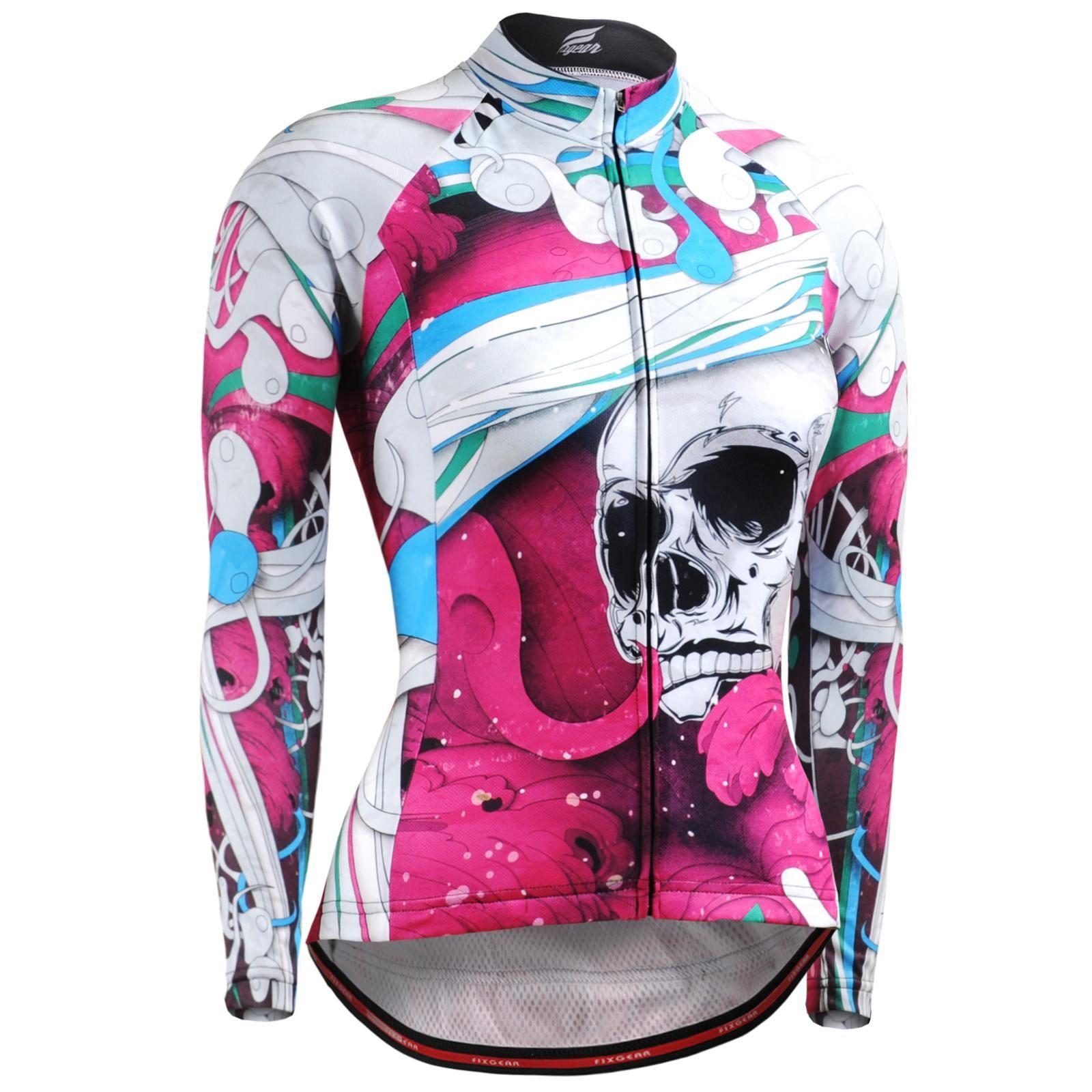 FIXGEAR CS-W19P2 Women/'s short sleeve cycling jersey road bike shirt bicycle MTB