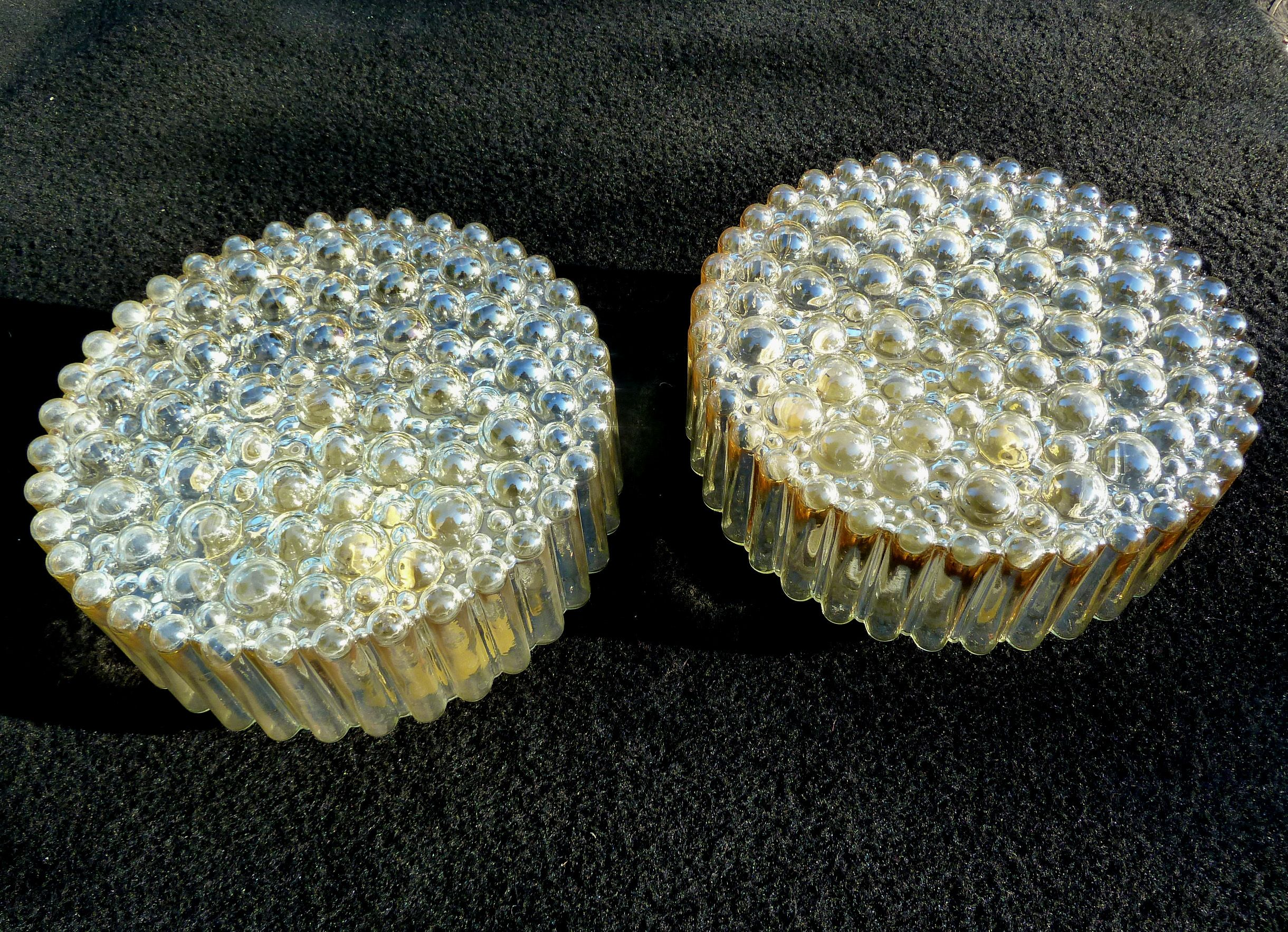 Plafoniere Per Van : Pair of limburg bubble metallic sconce wall flush lamp plafoniere