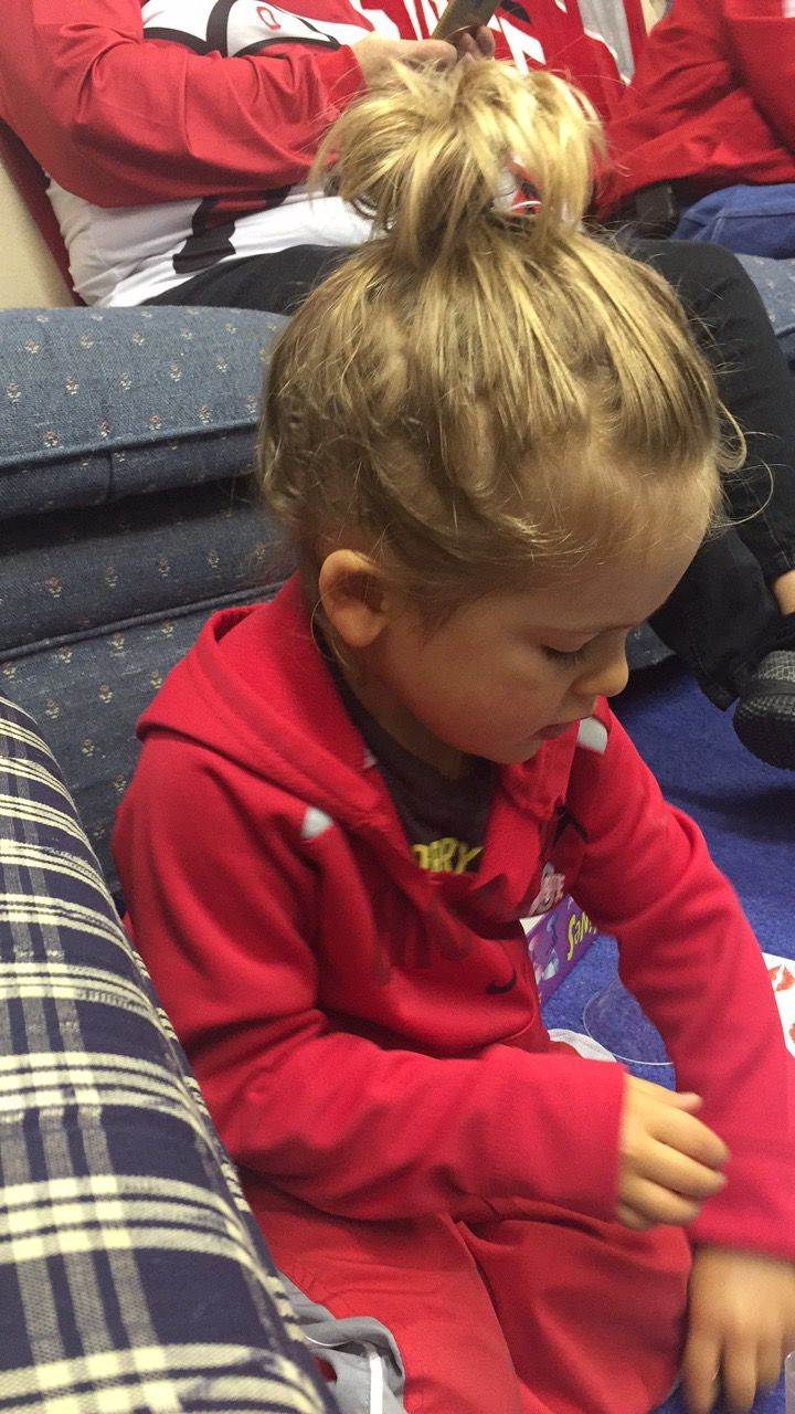 This Little Boys Man Bun Is Better Than Mine! (With Images