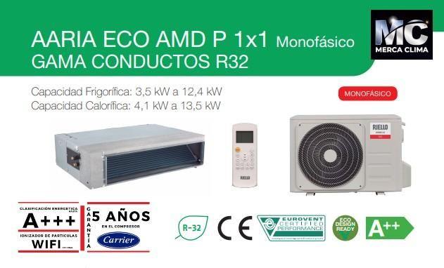 Aire Conducto Riello Aaria Eco Amd 80p En 2020 Conducto Aire
